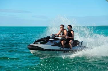 Sin limite de potencia en moto acuatica